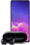 Samsung Galaxy S10 Lite New Unlocked Android Cell Phone 128GB of Storage, US Version with Samsung Galaxy Buds+ Plus, Black – US Version